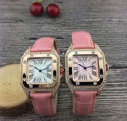 $enCountryForm.capitalKeyWord NZ - 2019 Car Ballon Luxury Watches Lady Silver Leather Strap Watches Diamond Wristwatch Womens Bracelet Designer Watch Multicolor Drop Shipping