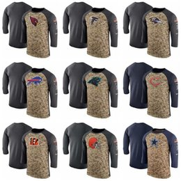 Men Falcons Ravens Bills Tee Panthers Bears Bengals Cardinals Anthracite  Salute to Service Sideline Legend Performance Sleeve T-Shirt 55a04064d