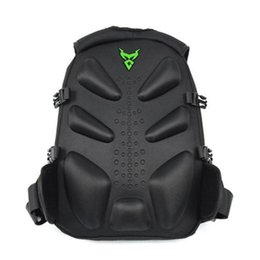 motorcycle riding backpacks UK - With Reflective Strip Waterproof Riding Large Capacity Adjustable Strap Travel Climbing Backpack Double Zipper Motorcycle Helmet