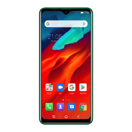 Wholesale Blackview A80 Pro 4GB 64GB Cell Phone 6.49 inch Waterdrop Android 9.0 4680mAh Battery 8MP 13MP Camera Global 4G OTG Smartphone