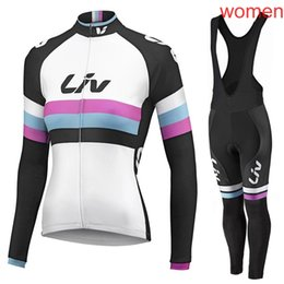 $enCountryForm.capitalKeyWord UK - 2019 Pro Team LIV Cycling Jersey Women Bicycle Clothing tour de france Breathable Quick Dry long sleeve bike clothing Ropa Ciclismo Y032103