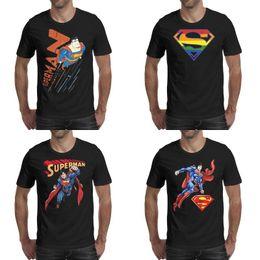 $enCountryForm.capitalKeyWord Australia - Mens printing Superman Superdad Super Dad Logo for Father's Day black t shirt Funny Slim fit Champion Shirts Cartoon Rainbow Pride man