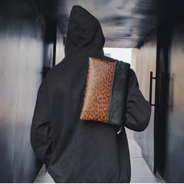 $enCountryForm.capitalKeyWord Australia - outlet brand men handbag fashion contrast color camouflage men hand bag street trend Leopard envelope bag Joker leather hand bag