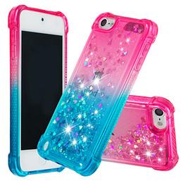 $enCountryForm.capitalKeyWord Australia - Drop-proof waterproof gradient quicksand tpu phone case for iphone x xr xs max 6 7 8 6s 6splus 7plus 7plus Ipad touch6 touch5