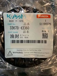 Wholesale OEM china kubota oil seal parts Agriculture+Machinery+Parts # 33670-43360 3A151-48250 33740-80290 3C095-43780 6A320-56220