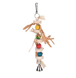 $enCountryForm.capitalKeyWord UK - Parrot Gnawing String Middle And Small Size Parrot Articles Straw Hand Catch Gnaw Toys Stand Frame Swing Paper