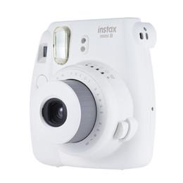 Wholesale New 5 Colors Fujifilm Instax Mini 9 Instant Camera Photo Camera combined White Film Photo Paper