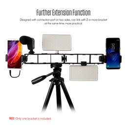 tripod mount clamp Australia - Extension Photography Bracket Cage Holder Rig with Screw Mount Flash Bracket for Video Microphone Monitor Phone Clamp Tripod