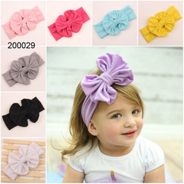 $enCountryForm.capitalKeyWord Australia - Pretty baby Hair Accessories For Infant Baby Lace Big Flower Bow Princess Babies Girl Hair Band Headband Baby's Head Kids 2020 hot sale