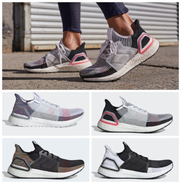 9930377ee 2019 Ultra Boosts 5.0 19 B37704 Mens Laser Red Running Shoes Oreo ultraboost  Uncaged Women Sneakers Trainers Designer Shoes with Box