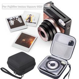 camera storage box Australia - Fashion Storage Box With Hand Strap Travel Carrying Accessories Anti Dirty Instant Film Camera For Instax Square SQ6