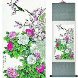 $enCountryForm.capitalKeyWord UK - Birds And Flowers Painting Silk Leaves Painting Traditional Chinese Art Painting Home Decoration Painting2019072309