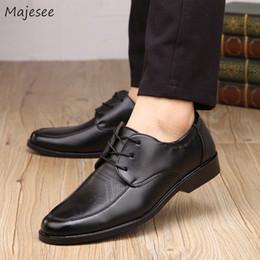 Korean Dressing Styles Australia - Men's Dress Shoes Korean Style Black Wedding Slip-on Leisure Men Gentleman Daily Office Simple Trendy Breathable Soft Deodorant
