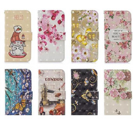 nova cartoon Australia - 3D Leather Wallet Case For Huawei P40 Lite P30 Pro P Smart Y7 2019 Nova 5 5I Pro Flower ID Card Slot Rabbit Cartoon London Luxury Flip Cover