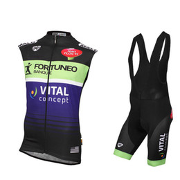 2004ae4fe summer Cycling Jersey Vital Concept Team men mtb bike clothing breathable  quick dry road bicycle clothes outdoor sports suits Y030201