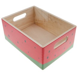 $enCountryForm.capitalKeyWord UK - =Wooden Watermelon Storage Box for Ketchup Play Food Kitchen Pretend Play Cooking Props Chef Role Play Preschool Toys