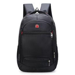 Military Style Packs Australia - Men Waterproof Business 15 15.6 Inch Laptop Backpack Travel Bagpack Mochila Military Students School Back Pack Bags New Y19061204