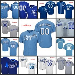 95933c9ca Custom 2019 Royals Stitched Jersey Mens 6 Lorenzo Cain 17 Wade Davis Kansas  City 13 Salvador Perez All Sewn Embroidered Jerseys