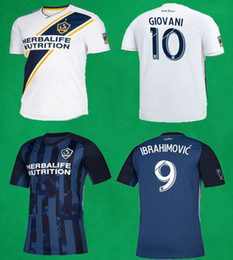 9d27cd4b404 2019 LA Galaxy Soccer Jerseys Zlatan IBRAHIMOVIC Football Jersey CORONA  GIOVANI Football Shirts Los Angeles Galaxy Home Away Soccer Uniforms