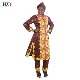 1ab90192e65 african dresses for women clothes 100% cotton bazin embroidery scarfs  headwraps tops pants suits dashiki dress for lady