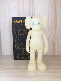 Momo Figure NZ - Kaws Original Fake Action Figure Collection Doll Christmas Gifts Birthdays Toys Gloomy-Bear MoMo Bear POPOBE Qee Bearbrick ship FAST