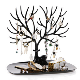 $enCountryForm.capitalKeyWord Australia - ANFEI Little Deer Earrings Necklace Ring Pendant Bracelet Jewelry Display Stand Tray Tree Storage Racks Organizer Holder H39