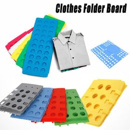 Shirt Folders Australia - Clothes Folding fast Board Adult Kid Clothes Shirts Folder Fast Easy Laundry Home Organizer Magic Fast Folding Slacker Supplies FFA707 p