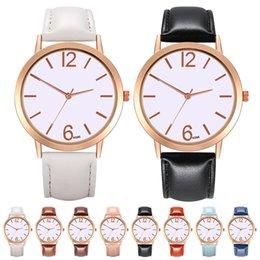 $enCountryForm.capitalKeyWord NZ - Fashionable Woman Quartz Wrist Watch Round Dial Quartz Wristwatch Watchband Hot Sale