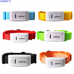 Dog Gps Track Australia - gps tracker 2017 New TKSTAR MiNi Pet GPS Tracker Necklace GSM GPRS TK909 Real Time SOS Tracking Long Stanby Time For Dog