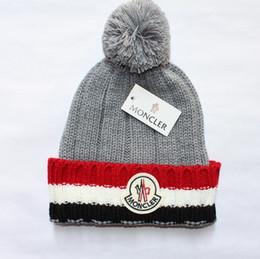 Crochet Beanie Hats For Men Australia - Wholesale Knitted Hat Designer Champion Winter Warm Thick Beanie Fedora gorro Bonnet Skull Hats for Men women Crochet Skiing