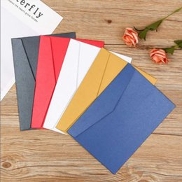 $enCountryForm.capitalKeyWord Australia - 10pcs 11*17.6cm Envelopes for Invitations Cute Envelope Postcard Invitation Card Paper Bag Wages Letter Paper Cover Stationery