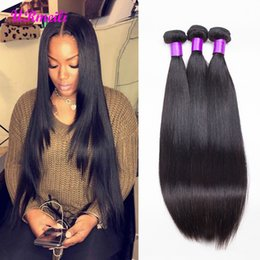 nice weaves 2019 - Malaysian Straight Hair Bundles 100% Human Hair Bundles Deal 100g PC Can Buy 3 4 Bundles 8a grade Nice Straight Remy Hai