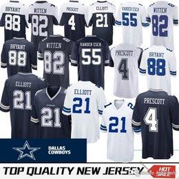 19 Amari Cooper Dallas 4 Dak Prescott Jersey Cowboys Mens 21 Ezekiel  Elliott 82 Jason Witte 55 Vander Esch 90 DeMarcus Lawrence Jerseys 77d65bf60