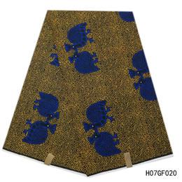 $enCountryForm.capitalKeyWord Australia - NEW Best Quality!! Veritable Dutch Real Hollandai' Wax ,African Printed Fabric 100% Cotton Nigeria ankara african wax 6 yards piece