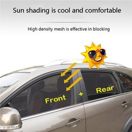 car windows sun shade NZ - CARPRIE 2019 Easy To Use 2 PC Magnetic Car Side Window Curtain Sun Shade Visor Anti-UV Cover Shield 3.0#