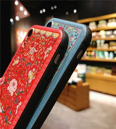 $enCountryForm.capitalKeyWord NZ - New embossed retro Chinese style tassel for iPhoneXS mobile phone shell Huawei P20 protective cover OPPO   VIVO pendant