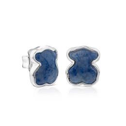Wholesale new borne online – design Bear Jewelry Sterling Silver earrings Silver New Color Earrings Fits European Jewelry Style Gift