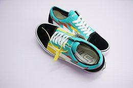 ce7067bf1f 2019 Original Revenge x Storm Pop-up Store 3 Lightning Flame Casual Canvas  Shoe Designer Zapatillas Old Skool 3s Fashion Women Men Sneakers