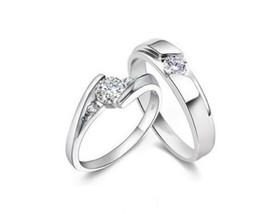 tension set diamond engagement rings Australia - 925 Sterling Silver Rings 1.25 CT HALO DIAMOND ENGAGEMENT RING & WEDDING BAND SET G-H EGL USA 14K