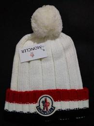 $enCountryForm.capitalKeyWord Australia - High quality Fashion Winter brand mon CANADA men beanie Bonnet women goose knitting hip hop Gorros pom-pom skull caps hair ball outdoor hats