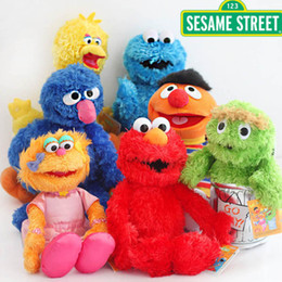 Thanksgiving cookies online shopping - New CM CM Sesame Street Bert Ballerina Zoe Big Bird Cookie Monster Elmo Emie Beanie Grover Oscar Plush Doll