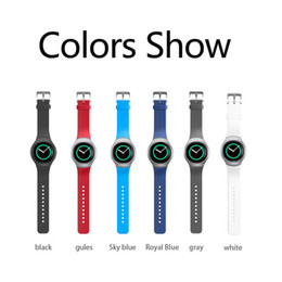 smart watches for samsung Australia - Sport Silicone Band For Samsung Gear S2 Smart Watch Band Stylish Silicone Replacement Strap,samsung watchband