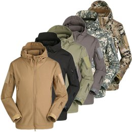 OutdOOr military jacket online shopping - Details about Waterproof Men s Jacket Soft Shell Outdoor Hiking Hunting Military Tactical Coat
