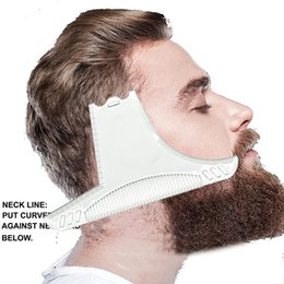 TemplaTe Tools online shopping - Multi liner Beard Shaper Template Comb Template Beard Comb Men Shaving Tools ABS Hair Trim Combs