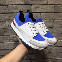 $enCountryForm.capitalKeyWord Australia - Designer's Luxury Men's Sports Shoes for Outdoor Playing, Running, Leisure Shoes, Leather Apartment and Pure Two-color Pair for Fre38-44Size