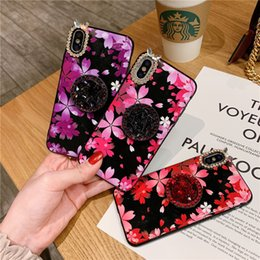 $enCountryForm.capitalKeyWord Australia - Creative With Holder Colorful Rhinestone Crashproof Back Cover TPU Cell Phone Case PC Protective Covers For iPhone X XR XS MAX 6 6S 7 8 PLUS