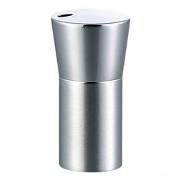 bar table accessories UK - Creative European Style YShaped Stainless Steel Table Decoration & Accessories Kitchen, Dining & Bar Toothpick Box Sleek HighEnd Toothpick H