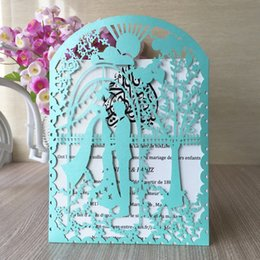Wedding anniversary invitations online shopping - 50 Garden Wedding Invitations Card Envelop Bride And Groom Marriage Ceremony Anniversary Gifts Cards Invitation Card Supplies