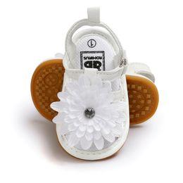 $enCountryForm.capitalKeyWord UK - Infant Girls Flower Sandals, Rubber Sole Prewalker Toddler Sandals Summer Princess First Walking Shoes