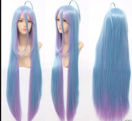 $enCountryForm.capitalKeyWord Australia - WIG LL HOT sell Free Shipping >>> Cosplay No Game No life Color Straight Wig 100cm